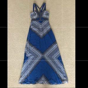 Bcbg Maxazria Stella Mosaic Print Dress New